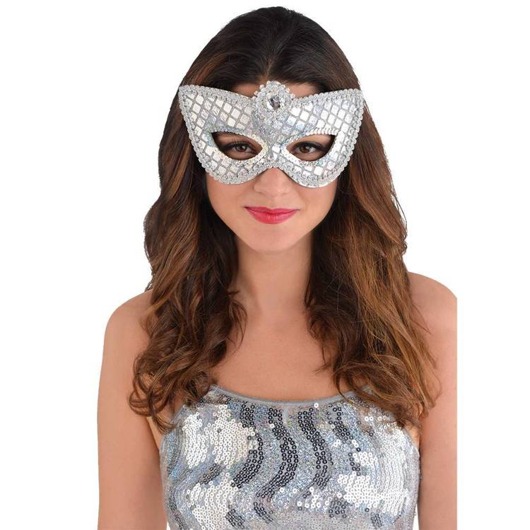 Amscan Mask Grand Sequin