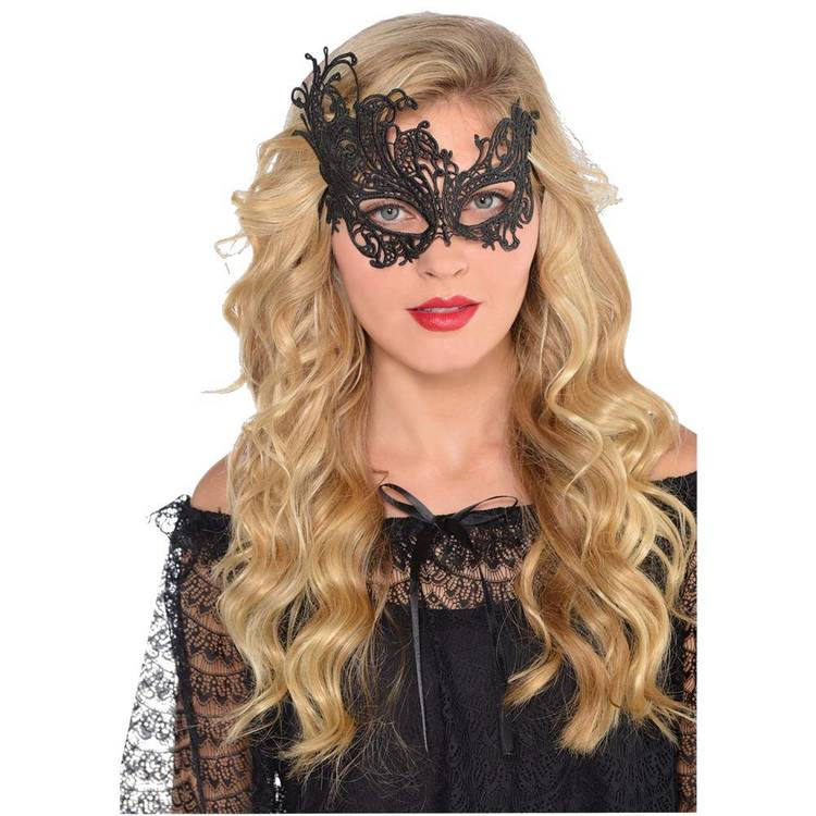 Amscan Mask Black Lace