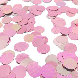 Five Star Foil Confetti Circles