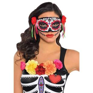 Amscan Mask Day Of The Dead