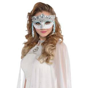 Amscan Mask Crystal Sparkle
