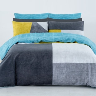 Brampton House Beverly Quilt Cover Set - Everyday Bargain