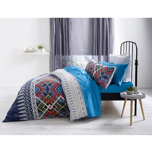 Brampton House Zia Quilt Cover Set - Everyday Bargain