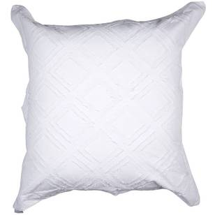Dri Glo Tallow Fringe European Pillow Cover