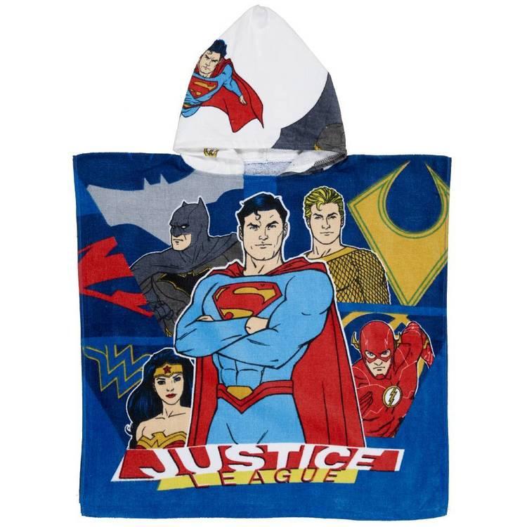 Justice League Hero Hooded Towel