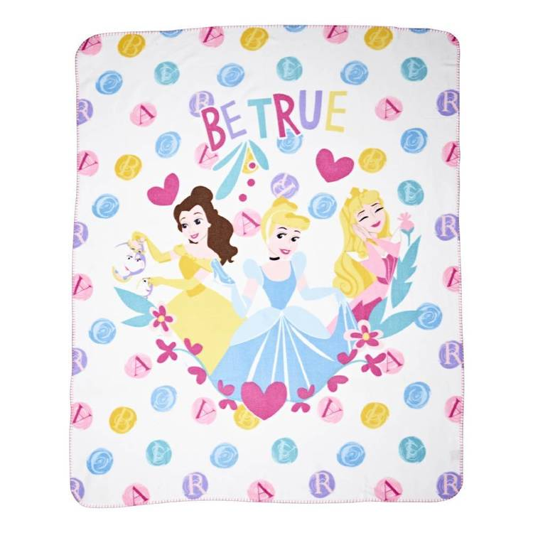 Disney Princess Princess Magic Throw Pink
