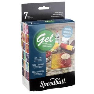 Speedball Akua Gel Monoprint Starter Kit