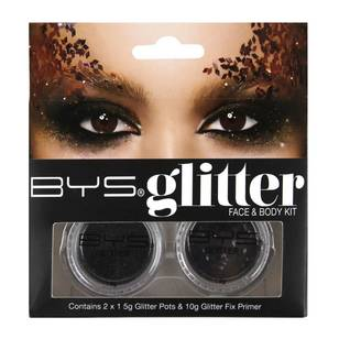 Bys Glitter Face & Body Kit 2 Pack