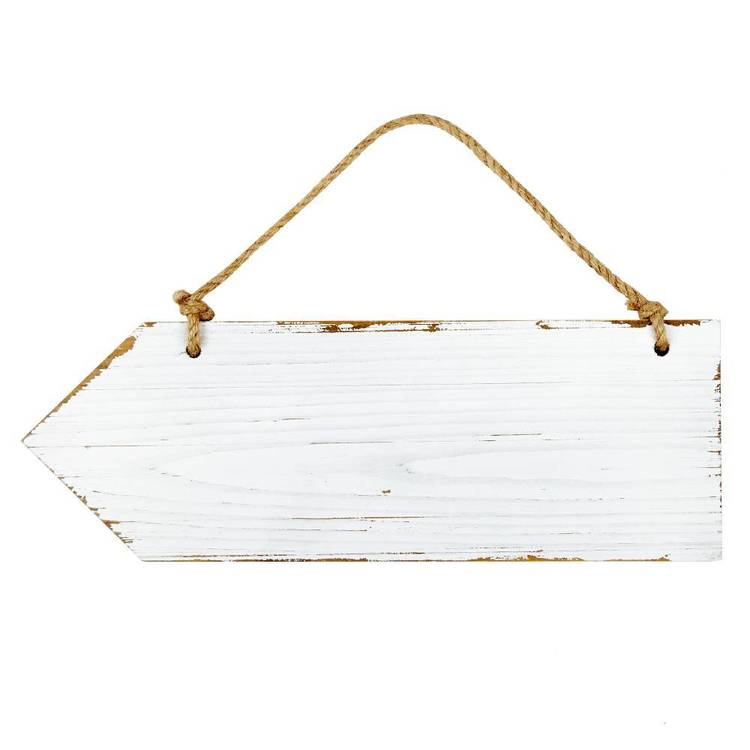 Arrow Shape Hanging Board