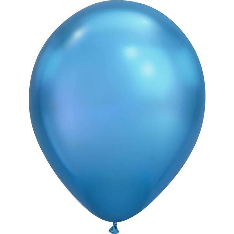 Qualatex Plain Latex Chrome Balloon