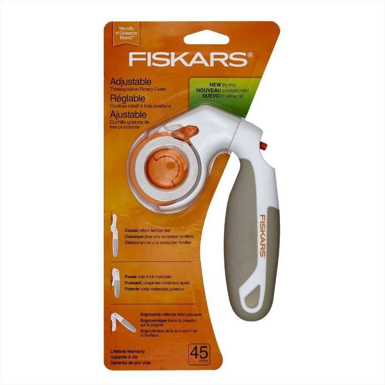Fiskars Adjust-Handle Rotary Cutter