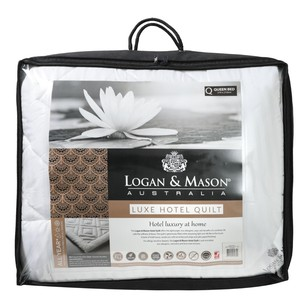 Logan & Mason Hotel Collection Quilt