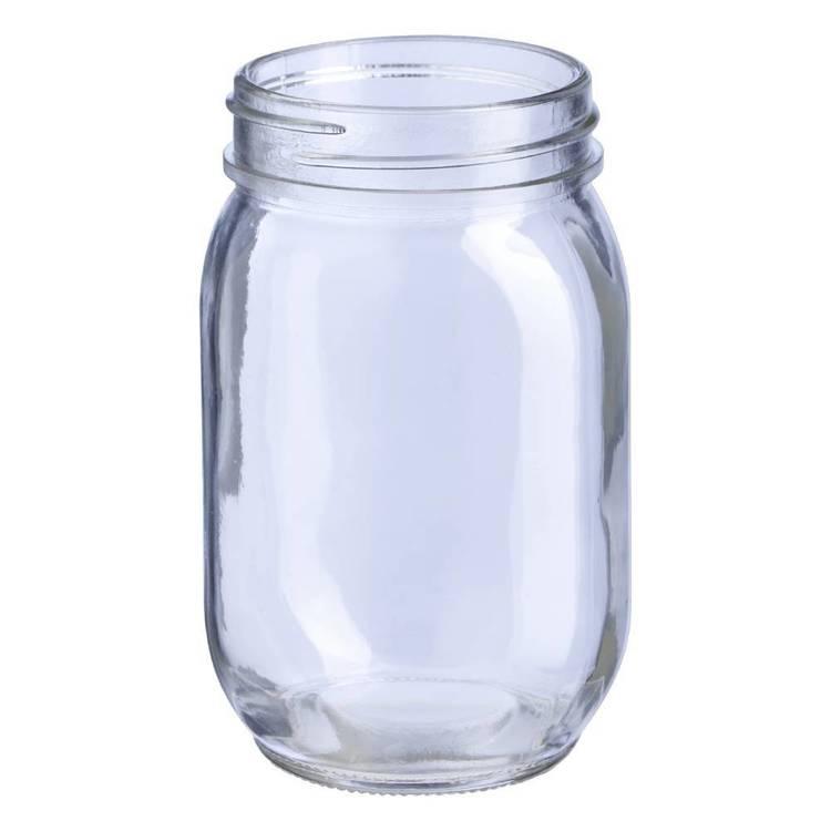 Clear Jar 12 cm