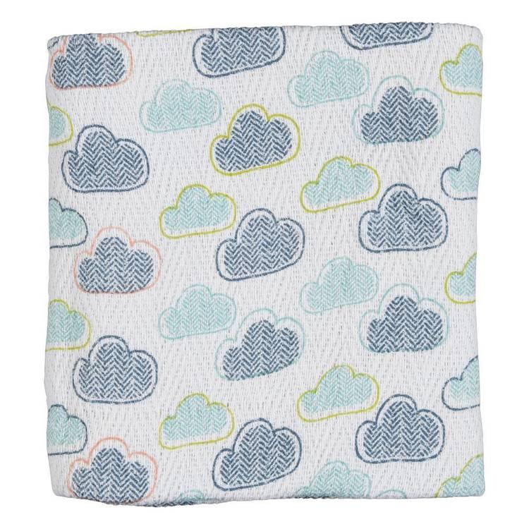 KOO Baby Frankie Printed Pram Blanket