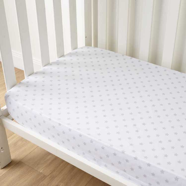 KOO Baby Frankie Printed Fitted Sheets 2 Pack