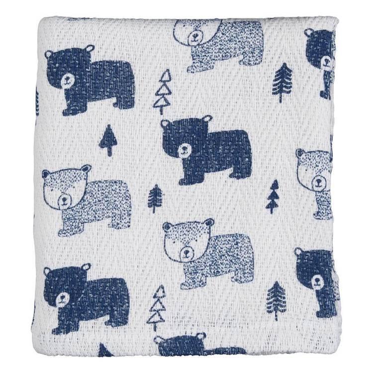 KOO Baby Rory Printed Pram Blanket