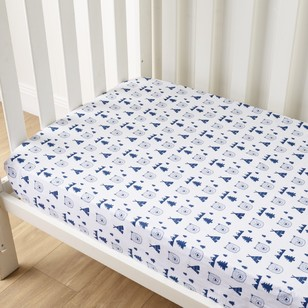 KOO Baby Rory Printed Fitted Sheets 2 Pack