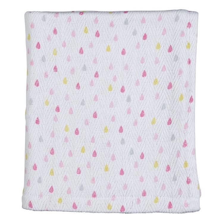KOO Baby Lottie Printed Cot Blanket