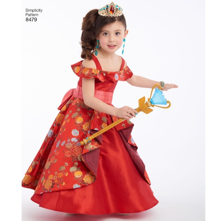 Simplicity Pattern 8479 Disney Elena Of Avalor Child S Costume