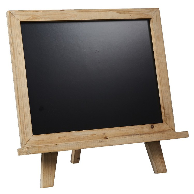 Blackboard With Stand Brown