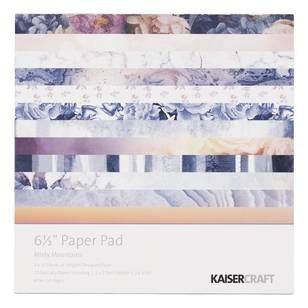 Kaisercraft Misty Mountains 6.5 Inch Paper Pad