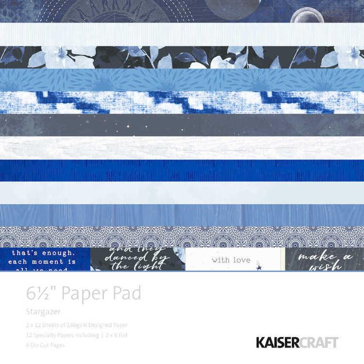 "Kaisercraft Stargazer 6.5"" Paper Pad"