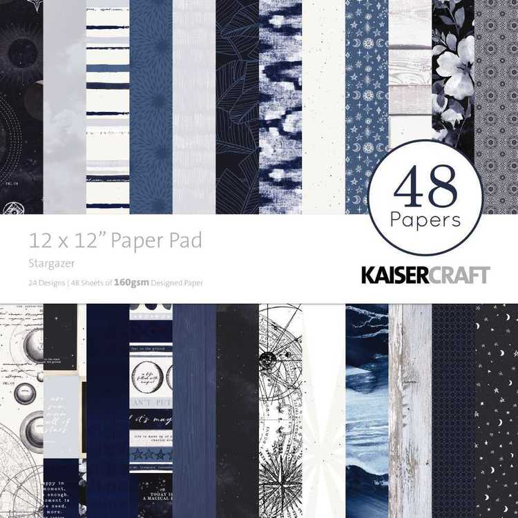 "Kaisercraft Stargazer 12"" Paper Pad"