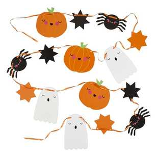 Spooky Hollow Paper Bunting