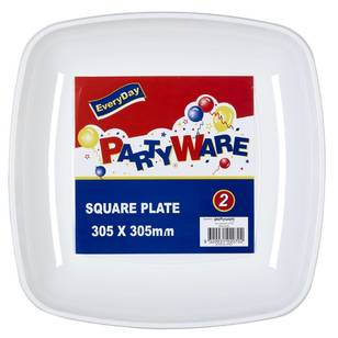 Partyware Square Tray 2 Pack