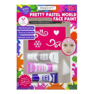 Imagipaint Pretty Pastel World Face Paint Pack