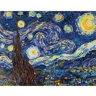 Diamond Dotz Starry Night Van Gogh