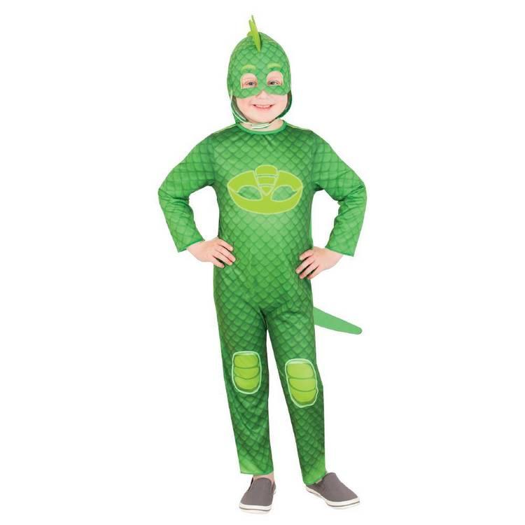 PJ Mask Glow in the Dark Costume Gekko