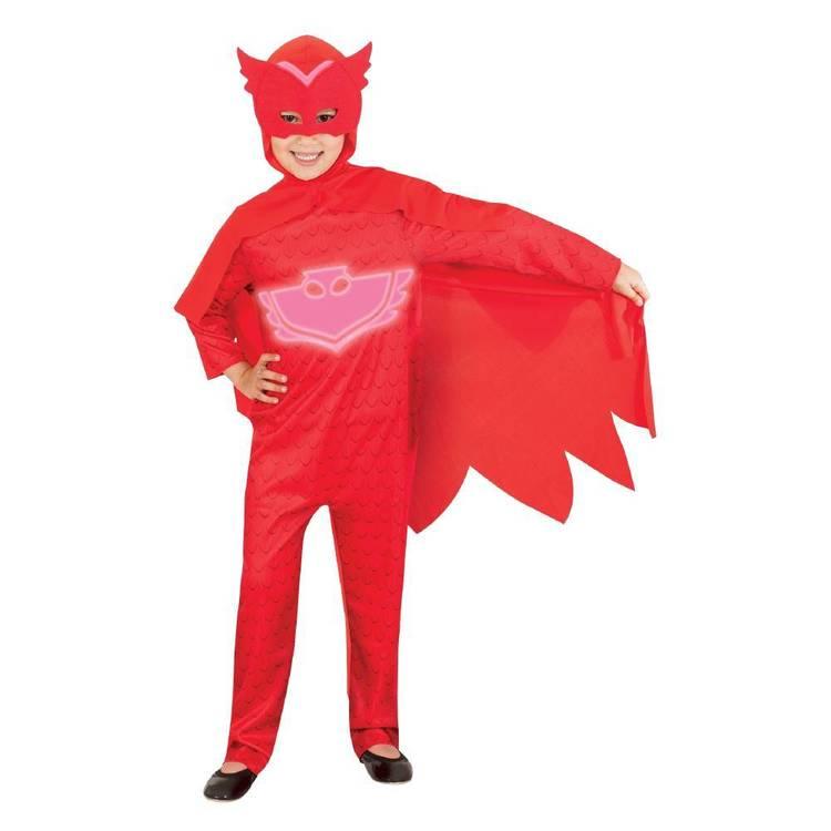 PJ Mask Glow in the Dark Costume Owlette