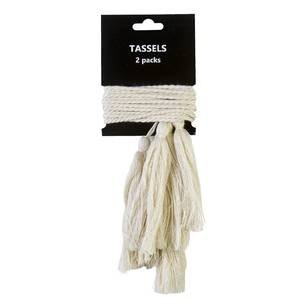 Semco 2Pk Tassels On Cord