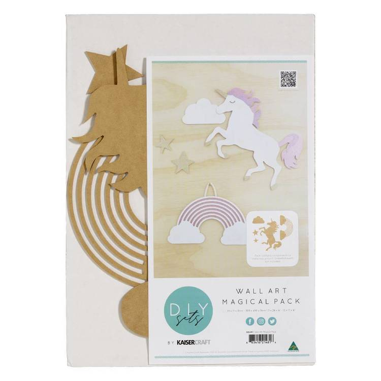 Kaisercraft Wall Art Magical Pack 34 x 48 cm Natural