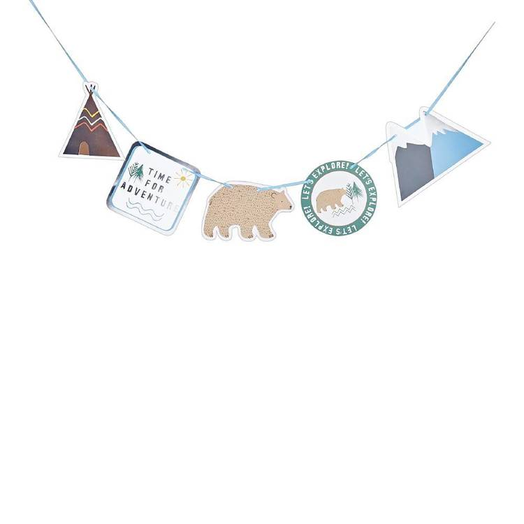 Camping Paper Bunting