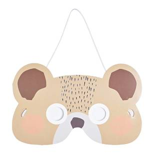Camping Bear Mask - 6 pack