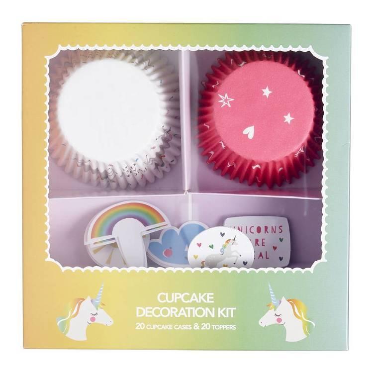 Rainbow Unicorn Baking Kit Set