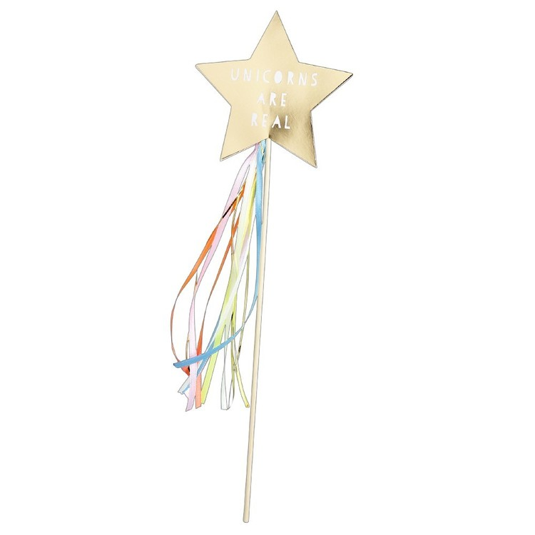 Rainbow Unicorn Magic Wand