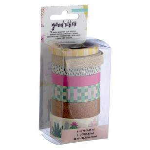 American Crafts Crate Paper Good Vibes Washi Tape Set