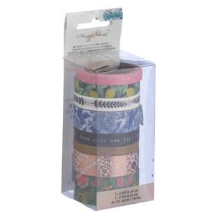 American Crafts Crate Paper Flourish Washi Tape Set