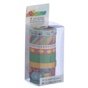American Crafts Amy Tangerine Washi Tape Set