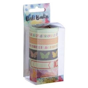American Crafts Vicki Boutin Washi Tape Set