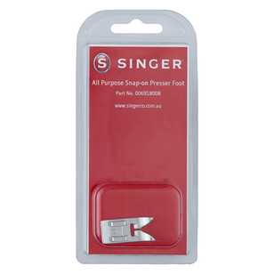 Singer All Purpose Snap On Presser Foot