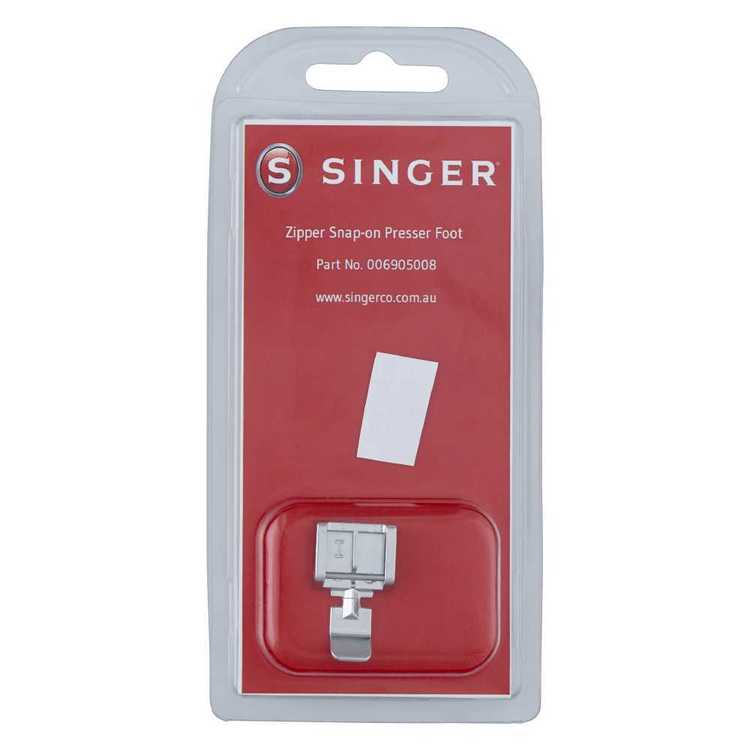 Singer Zipper Snap On Presser Foot