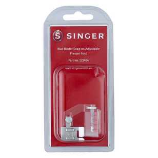 Singer Bias Bind Snap On Presser Adjustable Foot