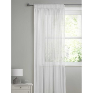 Caprice Stella Pencil Pleat Sheer Curtain
