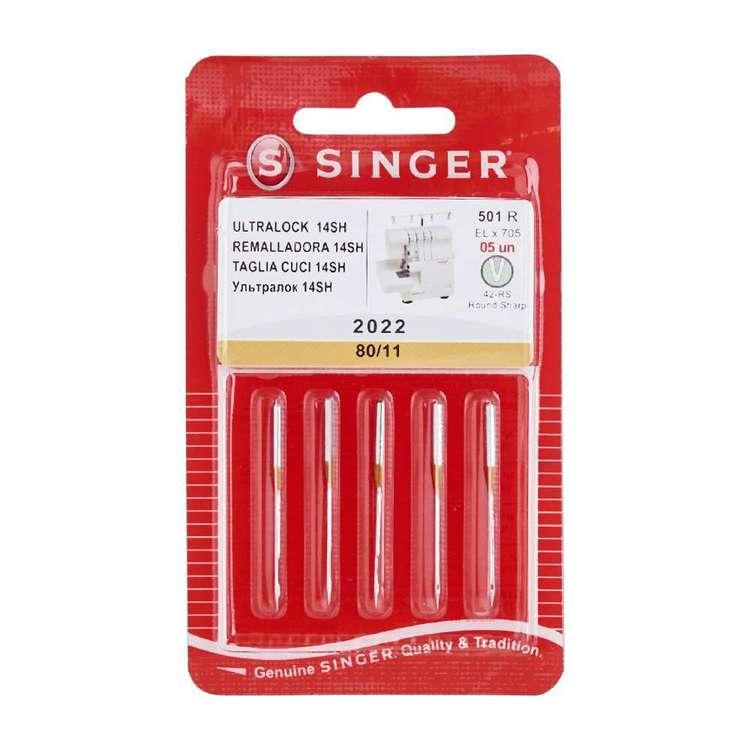Singer Overlocker Round Needle