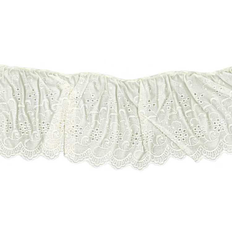 Birch Frilled Cambric Lace # 6