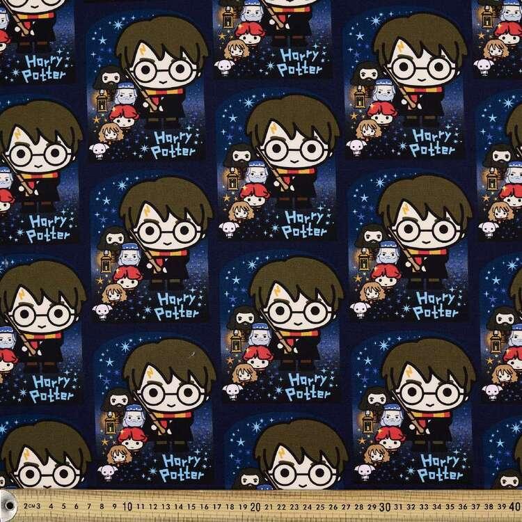 Harry Potter Team Printed Poplin Fabric